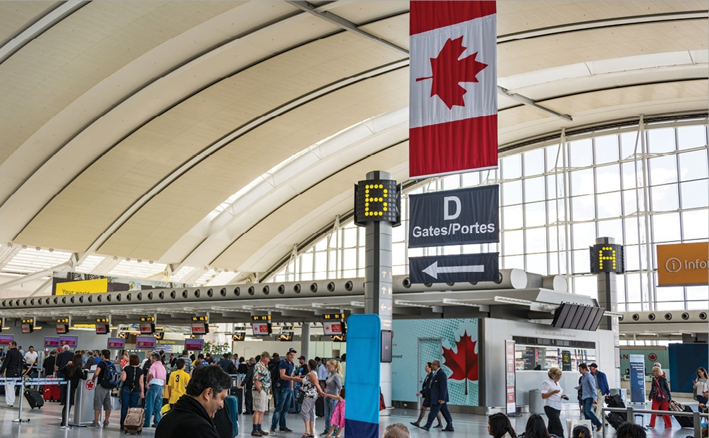 Abre Canadá fronteras a viajeros vacunados | Aviación 21