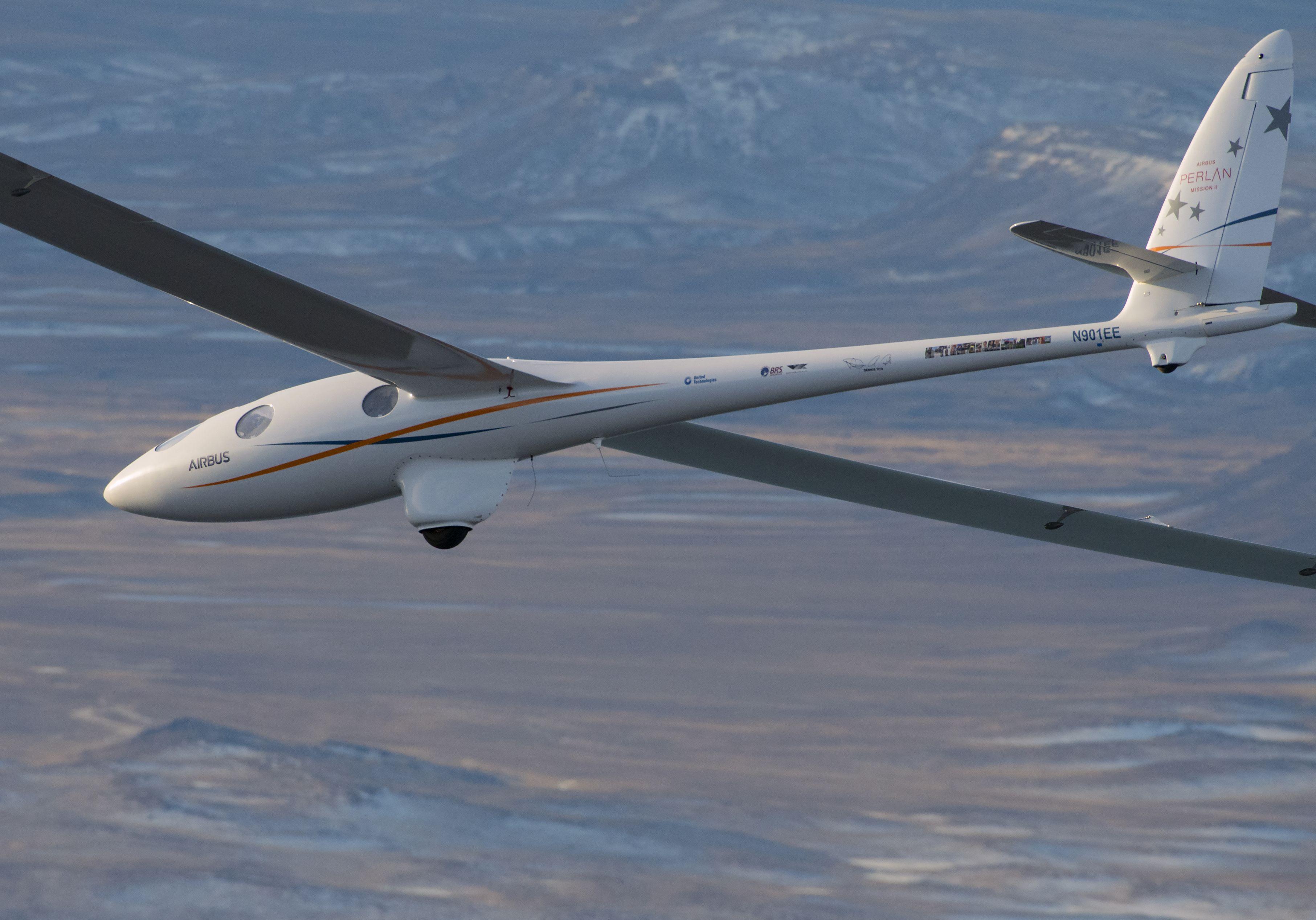d809739654 Airbus rompe récord de altura con avión planeador