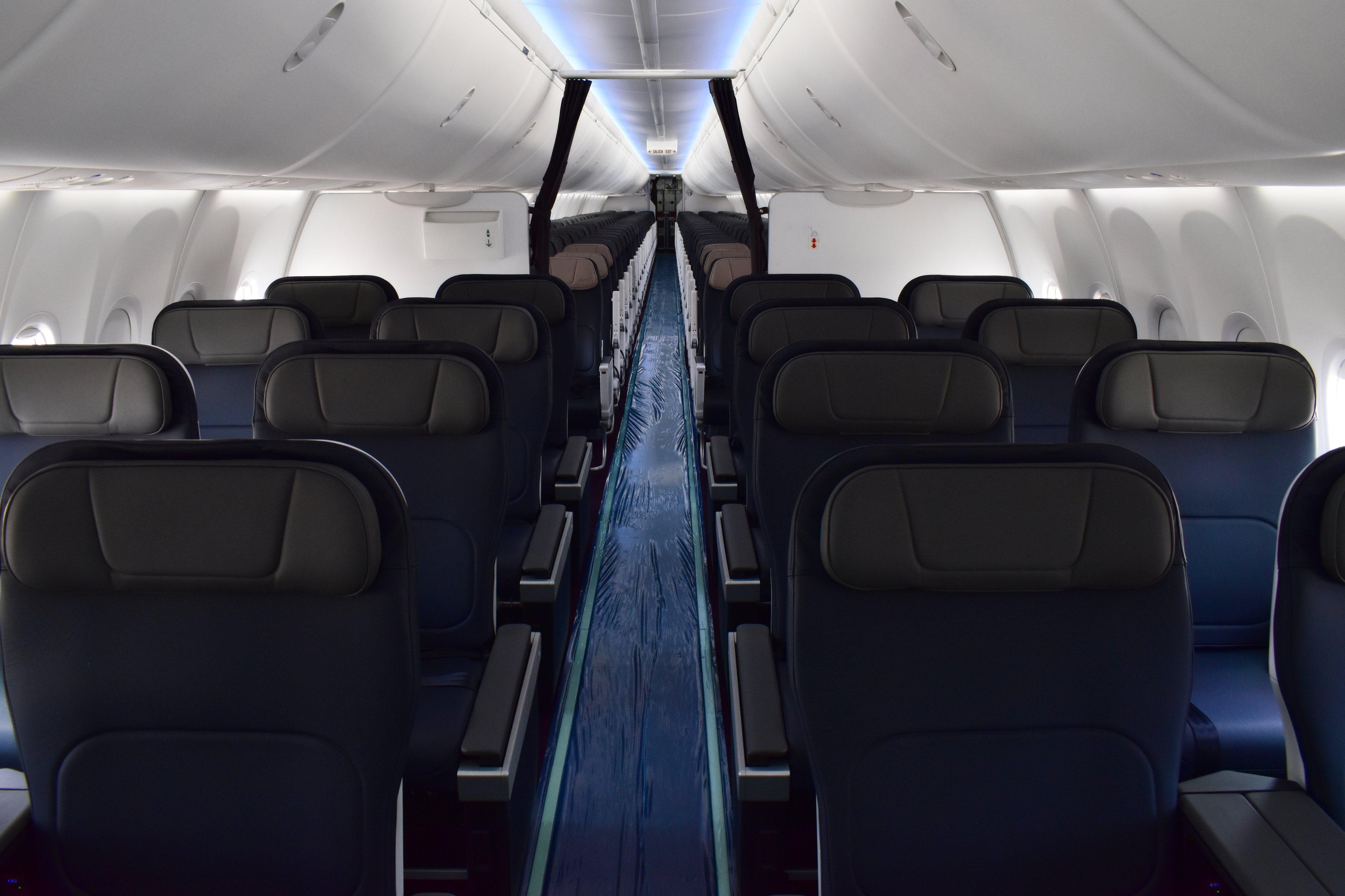 Aeromexico MAX 9 cabina