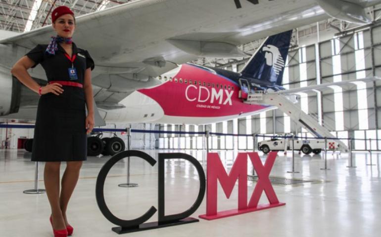 Presentan el 'Gran Avión CDMX'; impulsará el turismo de la capital |  Aviación 21